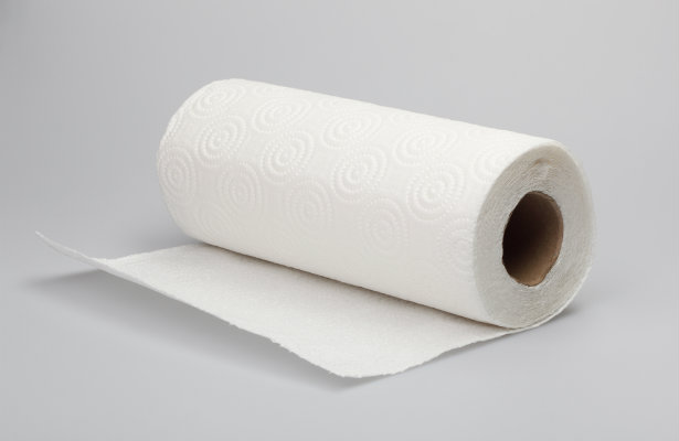 The paper towel holds moisture to maintain a comfortable humidity level without making the greens damp, which can cause them to rot. 2. Make your own baby wipes. Water, paper towels, coconut oil and baby wash—that's all you need to make your own wipes, saving you big bucks at the store. 3. Prevent frozen bread from getting soggy.
