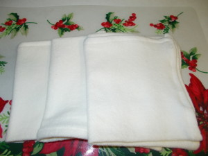 3 Sets-Bamboo Hand Towels